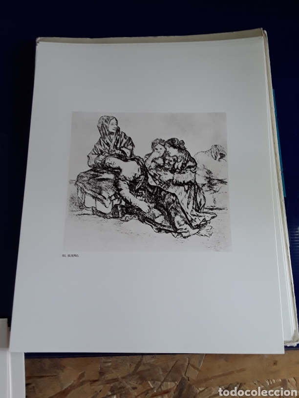 Arte: Coleccion de 22 litografías de GOYA(estudio previo del profesor Federico torralba) - Foto 13 - 208777101
