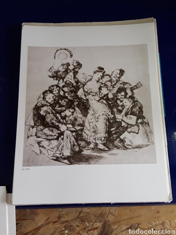 Arte: Coleccion de 22 litografías de GOYA(estudio previo del profesor Federico torralba) - Foto 14 - 208777101