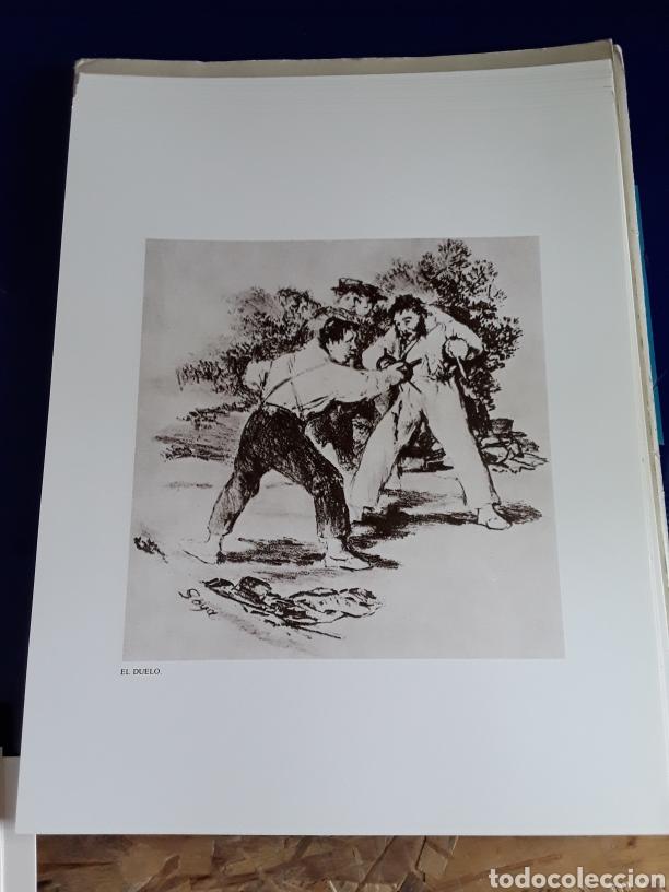 Arte: Coleccion de 22 litografías de GOYA(estudio previo del profesor Federico torralba) - Foto 16 - 208777101