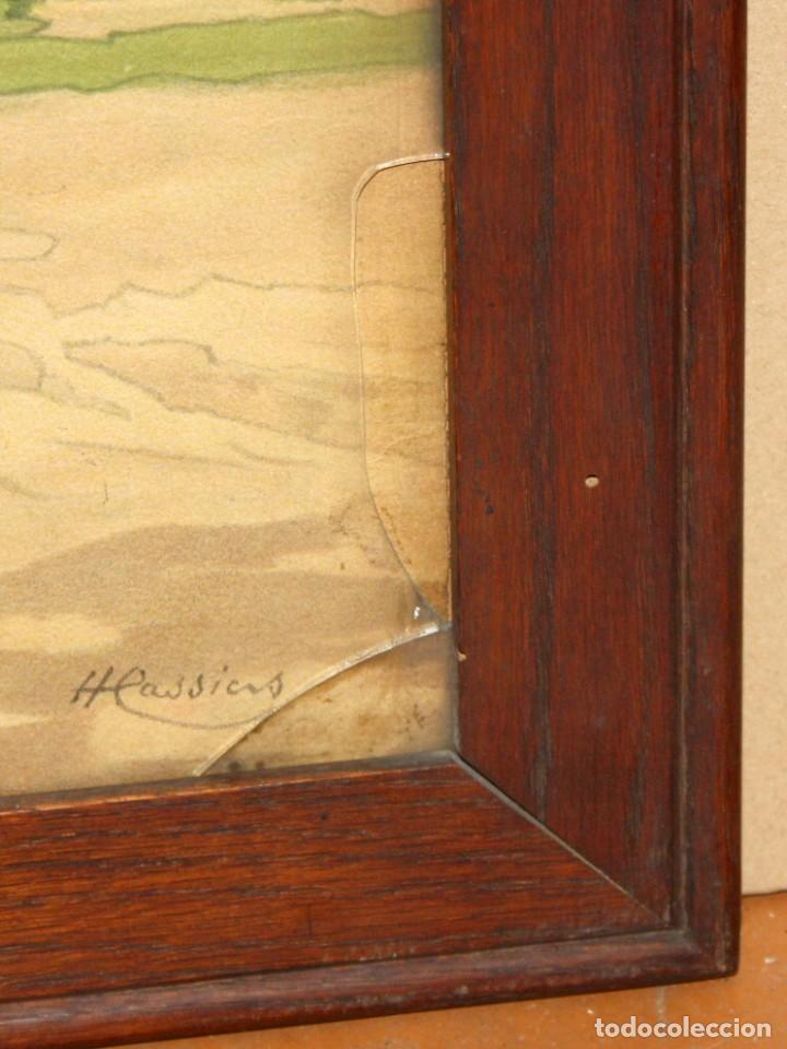 Arte: Henri CASSIERS (Bélgica, 1858 - 1944) LITOGRAFIA ORIGINAL. 59 X 98 CM. - Foto 10 - 209105238