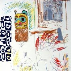 Arte: CARLOS PAZOS CHROMO-10 LITOGRAFÍA ORIGINAL FIRMADA Y NUMERADA LÁPIZ 37/100 ED POLÍGRAFA PAPEL GUARRO. Lote 209918860