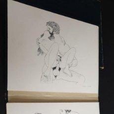 Arte: RARISIMA CAJA COMPLETA CON 24 LITOGRAFIAS ERÓTICAS DE MARIO TAUZIN.FIRMADAS POR ÉL. Lote 210651291