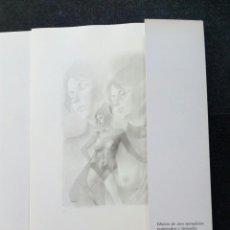"""Arte: PERELLON.""""GEMINIS"""".RARA CAJA SERIE COMPLETA 11 LITOGRAFIAS ERÓTICAS .FIRMADAS.100 EJEMPLARES.1990. Lote 210693390"""