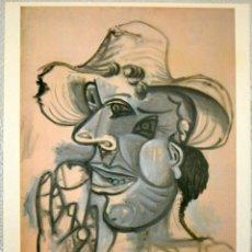 Arte: PICASSO - HOMME AU CORNET DE GLACÉE - SPADEM 1938 - LITOGRAFÍA 70/250 - CON JUST. DE TIRADA. Lote 211276179