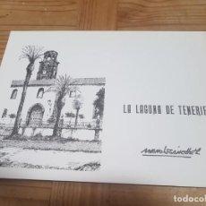 Arte: CARPETA CON 10 LAMINAS LA LAGUNA DE MANOLO SANCHEZ FIRMADAS A LAPIZ. Lote 211561382