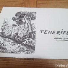 Arte: CARPETA CON 10 LAMINAS TENERIFE DE MANOLO SANCHEZ FIRMADAS A LAPIZ. Lote 211562221