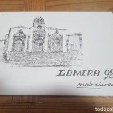 Arte: CARPETA CON 10 LAMINAS LA GOMERA 92 DE MANOLO SANCHEZ FIRMADAS A LAPIZ. Lote 211562320