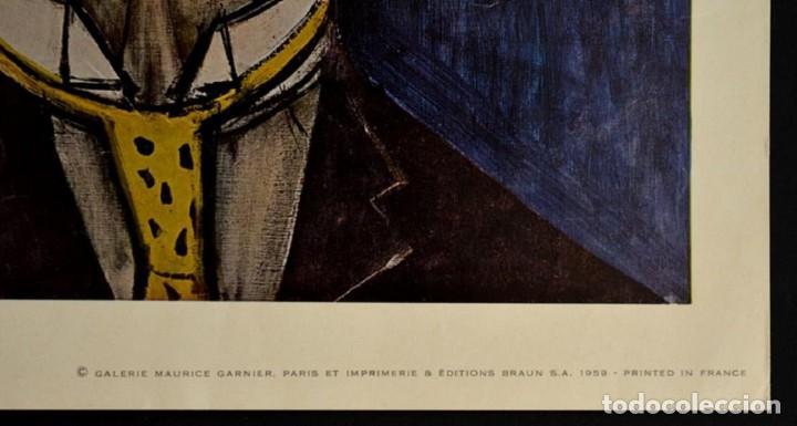 Arte: Bernard BUFFET - te de clown, Colección Maurice - Foto 2 - 211760965