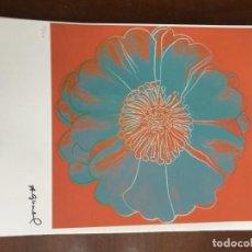 Art: ANDY WARHOL LITOGRAFIA 57 X 38 ARCHES FRANCE TIMBRI GALLERIE D ARTE. Lote 211815772