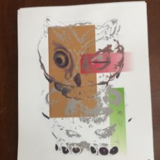 Arte: ANDY WARHOL LITOGRAFIA 57 X 38 ARCHES FRANCE TIMBRI GALLERIE D' ARTE. Lote 211816528