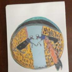 Arte: ANDY WARHOL LITOGRAFIA 57 X 38 ARCHES FRANCE TIMBRI GALLERIE D' ARTE. Lote 211816858