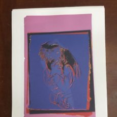 Arte: ANDY WARHOL LITOGRAFIA 57 X 38 ARCHES FRANCE TIMBRI GALLERIE D' ARTE. Lote 211886597
