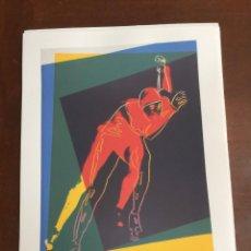 Arte: ANDY WARHOL LITOGRAFIA 57 X 38 ARCHES FRANCE TIMBRI GALLERIE D' ARTE. Lote 211886611