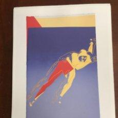 Arte: ANDY WARHOL LITOGRAFIA 57 X 38 ARCHES FRANCE TIMBRI GALLERIE D' ARTE. Lote 211886626
