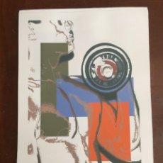 Arte: ANDY WARHOL LITOGRAFIA 57 X 38 ARCHES FRANCE TIMBRI GALLERIE D' ARTE. Lote 211886757