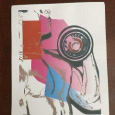 Arte: ANDY WARHOL LITOGRAFIA 57 X 38 ARCHES FRANCE TIMBRI GALLERIE D' ARTE. Lote 211886787