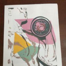 Arte: ANDY WARHOL LITOGRAFIA 57 X 38 ARCHES FRANCE TIMBRI GALLERIE D' ARTE. Lote 211887227