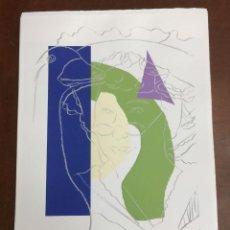 Arte: ANDY WARHOL LITOGRAFIA 57 X 38 ARCHES FRANCE TIMBRI GALLERIE D' ARTE. Lote 211887250