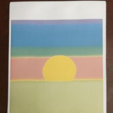 Arte: ANDY WARHOL LITOGRAFIA 57 X 38 ARCHES FRANCE TIMBRI GALLERIE D' ARTE. Lote 211887302