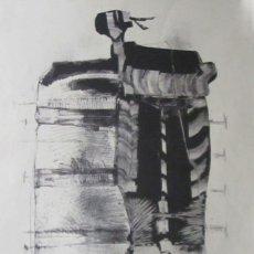 Arte: ILEGIBLE COMPOSICIÓN ABSTRACTA 3. Lote 211905712