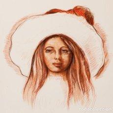 "Arte: ELMYR DE HORY (BUDAPEST 1906-IBIZA 1976) ""PORTRAIT SOUVENIR"", EN EL ESTILO DE ELMYR DE HORY. Lote 211955452"
