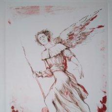 Arte: GINÉS LIÉBANA: ÁNGEL DE LA ELEGÍA DE DUINO 1984. EJEMPLAR 11/180. Lote 213133315