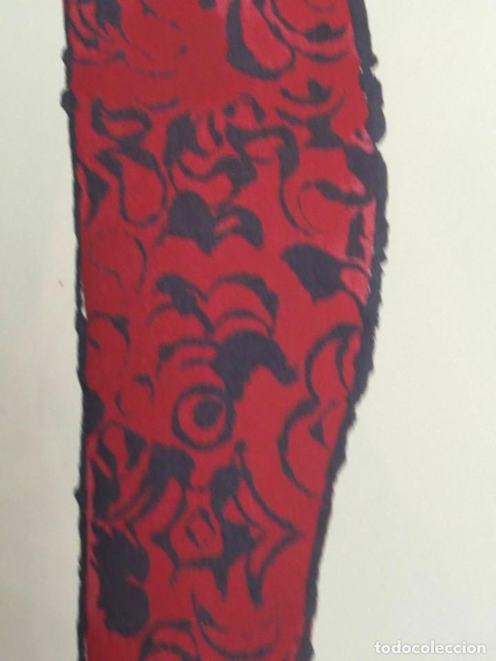 Arte: Litografia de Andy Warhol,Tacon rojo,numerado a lapiz,con firma y marca de agua,57x38 cms - Foto 4 - 213164441