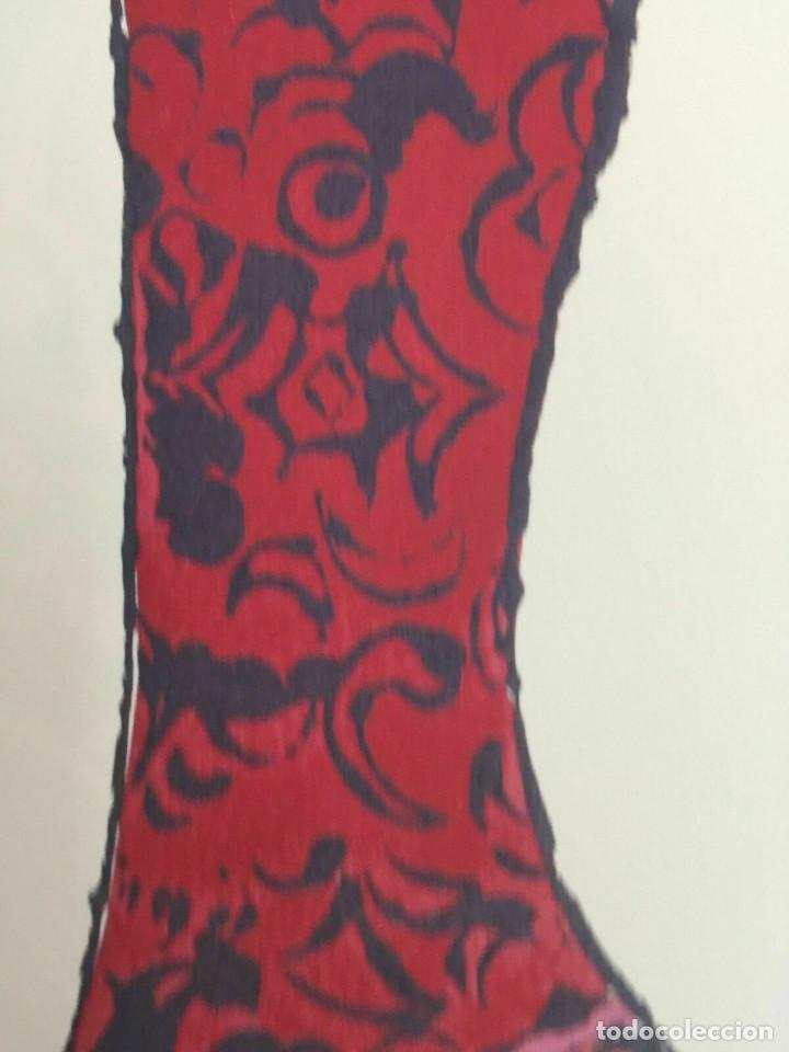 Arte: Litografia de Andy Warhol,Tacon rojo,numerado a lapiz,con firma y marca de agua,57x38 cms - Foto 5 - 213164441