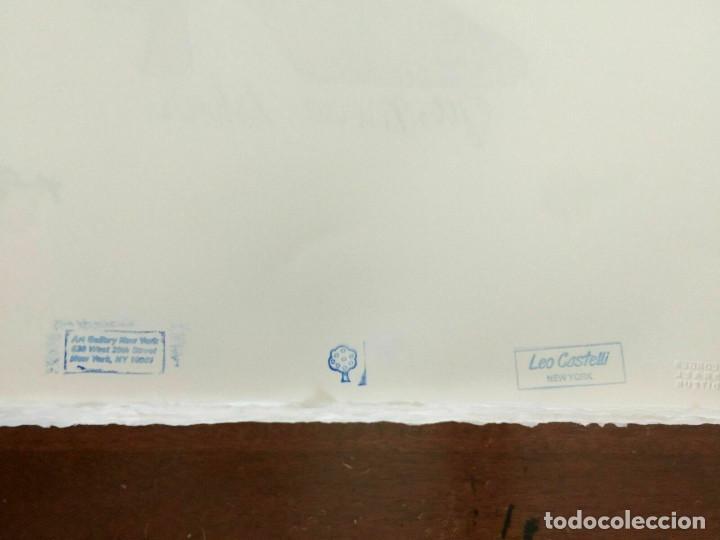Arte: Litografia de Andy Warhol,Tacon rojo,numerado a lapiz,con firma y marca de agua,57x38 cms - Foto 11 - 213164441