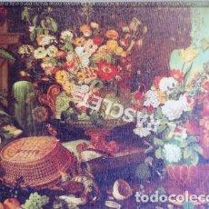 Arte: ANTIGÜA LITOGRAFIA DE GABRIEL PLANELLA- BODEGON CON FLORES- PALACIO DE LA MONCLOA MADRID. Lote 213653392