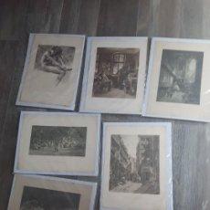 Arte: LOTE DE 6 LITOGRAFIAS ALEMANAS DE DIFERENTES ARTISTAS. Lote 213869978