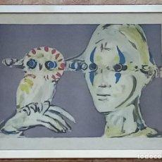 Arte: LITOGRAFÍA DE JAUME MUXART. Lote 214363973