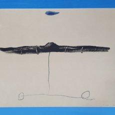 Arte: LITOGRAFÍA - SUBMARINO - RIERA I ARAGÓ - D 459/1000 - FIRMADA CON CERTIFICADO - EDICIONES POLIGRAF. Lote 215421075