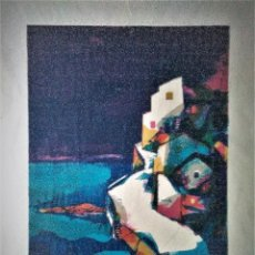 Arte: MIQUEL IBARZ ROCA. LITOGRAFIA. PAISAJE CADAQUÉS. Lote 215425007