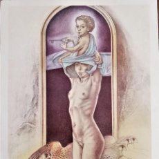 Arte: GREGORIO SABILLON. LITOGRAFIA FIRMADA A MANO.. Lote 215450956