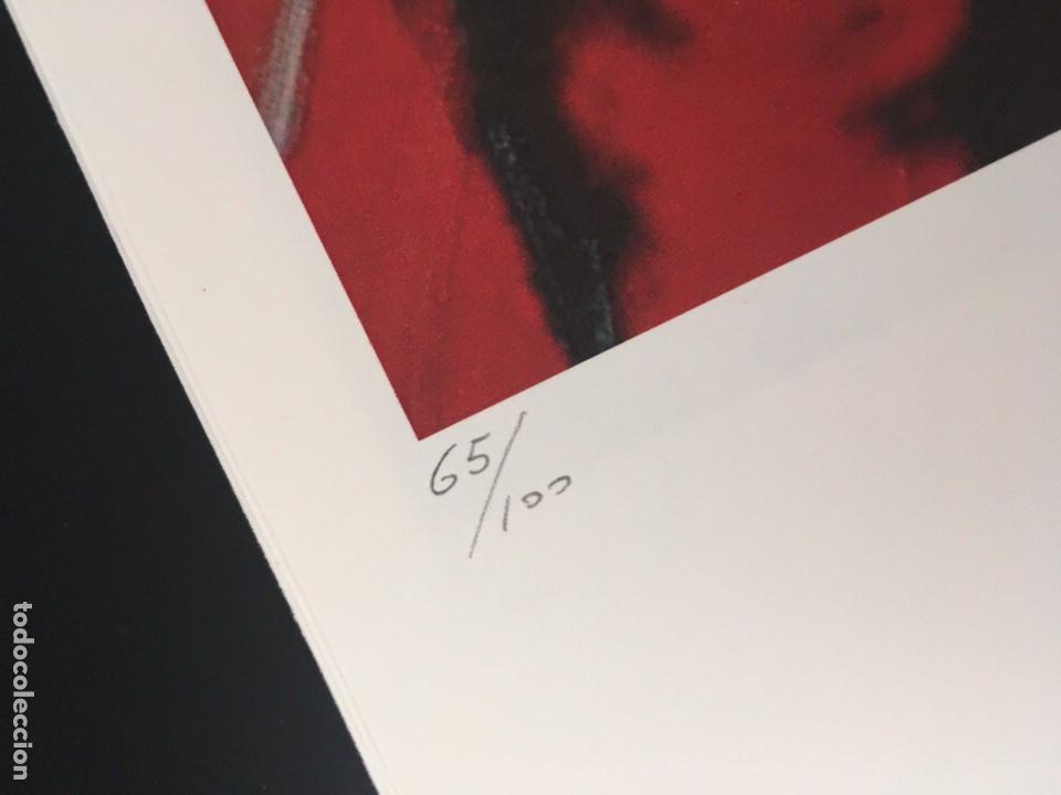 Arte: Muhammad mohamed ali de Andy Warhol, edición limitada, numerada a làpiz - Foto 3 - 215494637