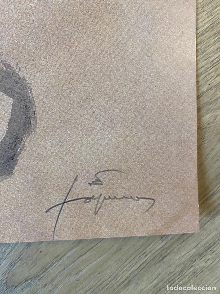 Arte: Antoni Tàpies Cartel Original Roland Garros 2000 Tenis Coleccion - Foto 3 - 214136411