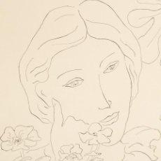 Arte: ELMYR DE HORY (BUDAPEST 1906-IBIZA 1976) - DAMA EN EL FOLLAJE EN EL ESTILO DE MATISSE (1869-1954). Lote 216595060