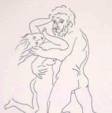 """Arte: ELMYR DE HORY (BUDAPEST 1906-IBIZA 1976) - """"EL RAPTO"""", EN EL ESTILO DE PICASSO (1881-1973). Lote 216598147"""