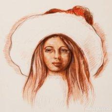 Arte: ELMYR DE HORY (BUDAPEST 1906-IBIZA 1976) - PORTRAIT SOUVENIR, EN EL ESTILO DE ELMYR. Lote 216599053