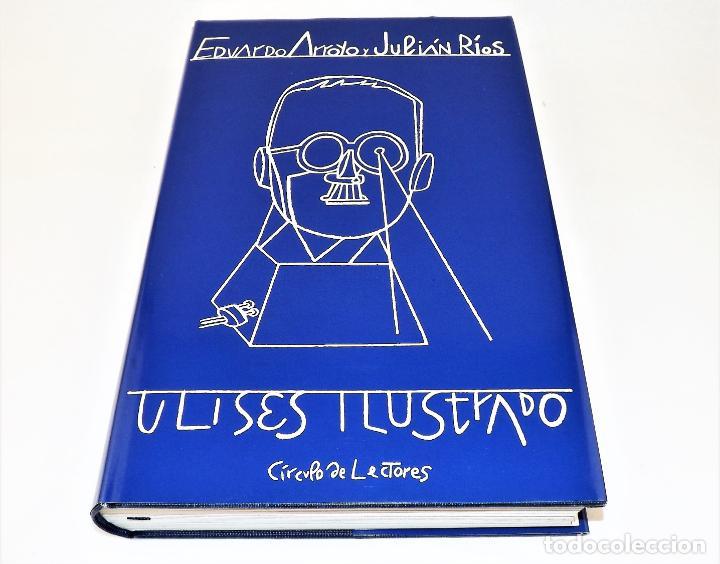 Arte: Ulises. James Joyce +Ulises ilustrado +litografía firmada por Eduardo Arroyo - Foto 6 - 216680360