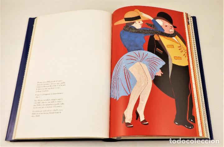 Arte: Ulises. James Joyce +Ulises ilustrado +litografía firmada por Eduardo Arroyo - Foto 7 - 216680360