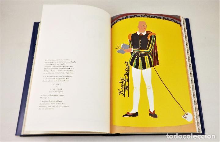 Arte: Ulises. James Joyce +Ulises ilustrado +litografía firmada por Eduardo Arroyo - Foto 8 - 216680360