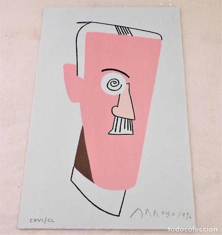 Arte: Ulises. James Joyce +Ulises ilustrado +litografía firmada por Eduardo Arroyo - Foto 9 - 216680360