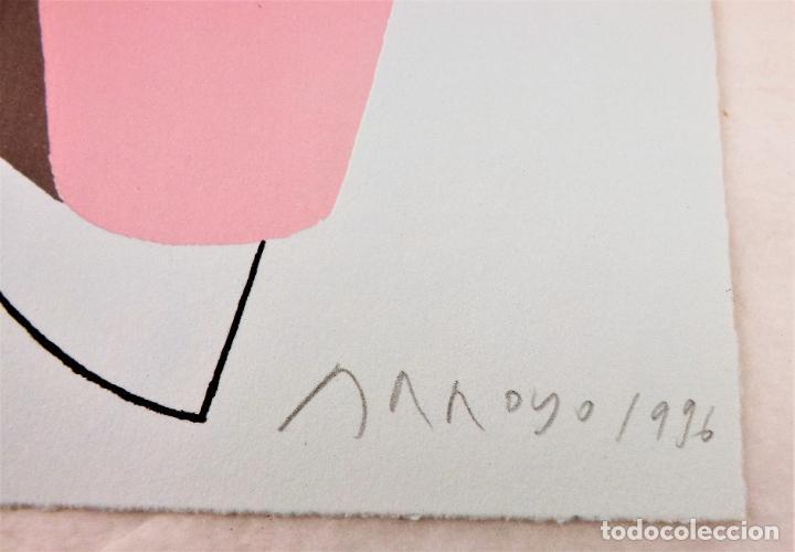 Arte: Ulises. James Joyce +Ulises ilustrado +litografía firmada por Eduardo Arroyo - Foto 10 - 216680360