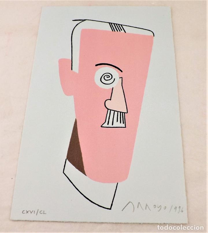Arte: Ulises. James Joyce +Ulises ilustrado +litografía firmada por Eduardo Arroyo - Foto 12 - 216680360