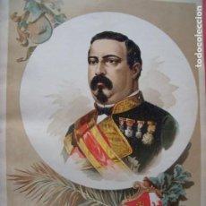 Arte: CONDE DE VALMASEDA.-MILITAR.-LITOGRAFIA.-SESTAO.-MADRID.-AÑO 1894.. Lote 216917361