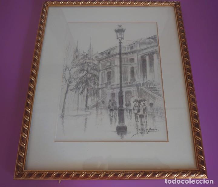 LITOGRAFÍA MUSEO DEL PRADO LOPEZ BERRON (Arte - Litografías)