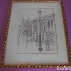Arte: LITOGRAFÍA MUSEO DEL PRADO LOPEZ BERRON. Lote 216960555