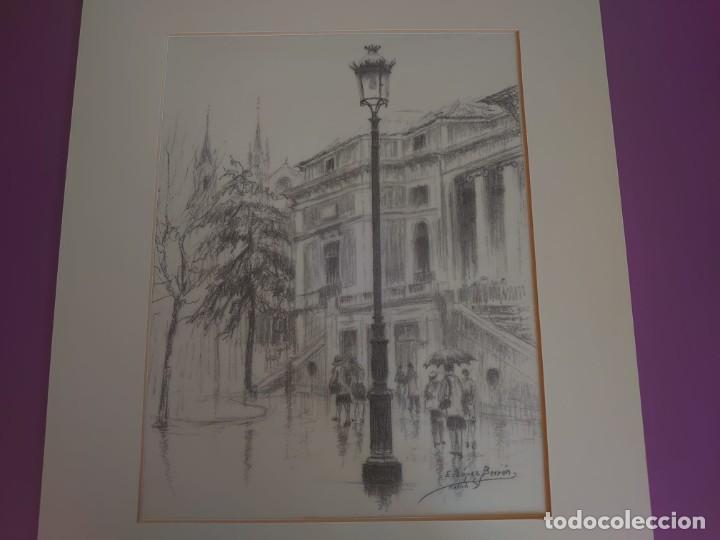 Arte: LITOGRAFÍA MUSEO DEL PRADO LOPEZ BERRON - Foto 3 - 216960555